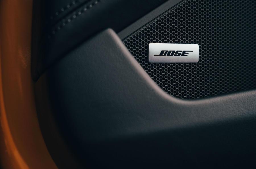 Porsche 911 Carrera 4S 2019 UK first drive review - speakers