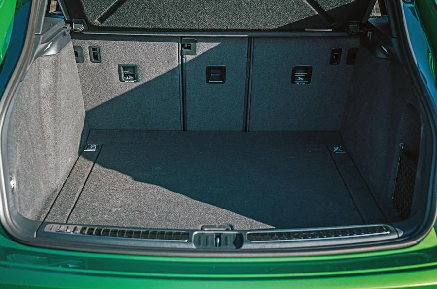 Porsche Macan 2019 first drive review - boot