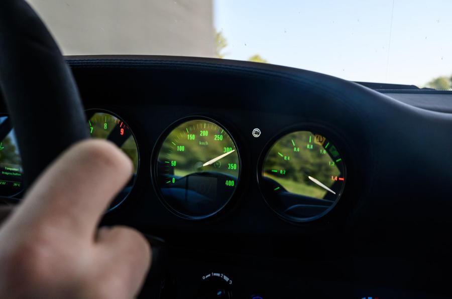 16 RUF CTR 2020 premier examen de la vitesse de conduite