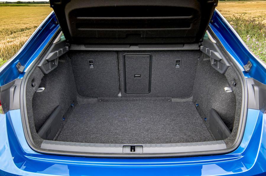 Skoda Octavia hatchback 2020 UK first drive review - boot