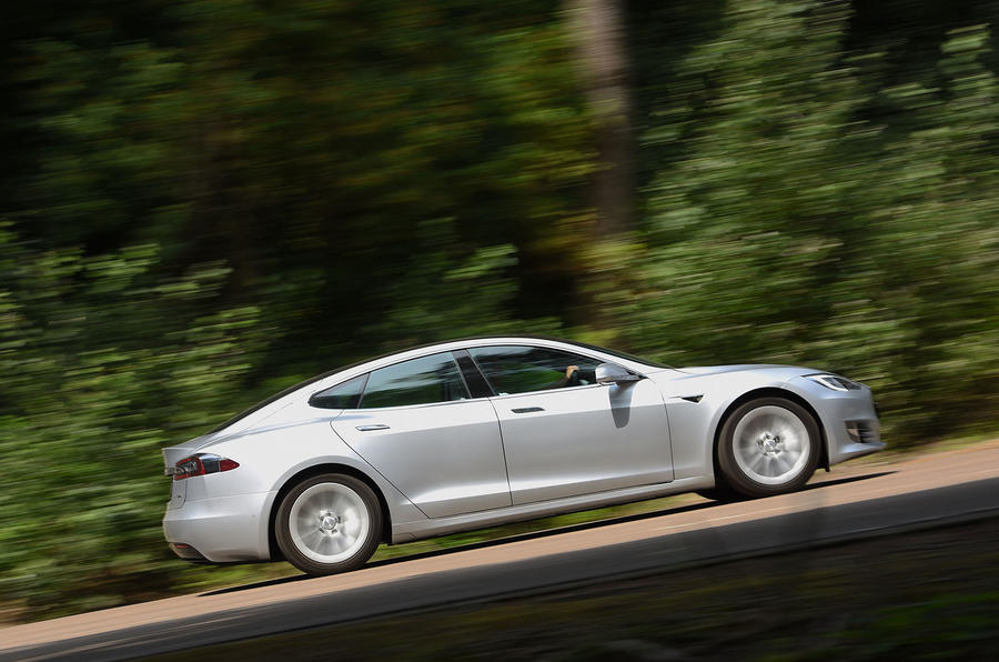 Tesla Model S 75D 2018 first drive review on the road right