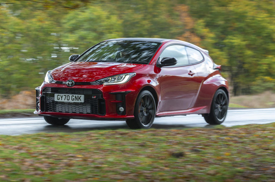 Toyota GR Yaris 2020 UK first drive review - on the road front