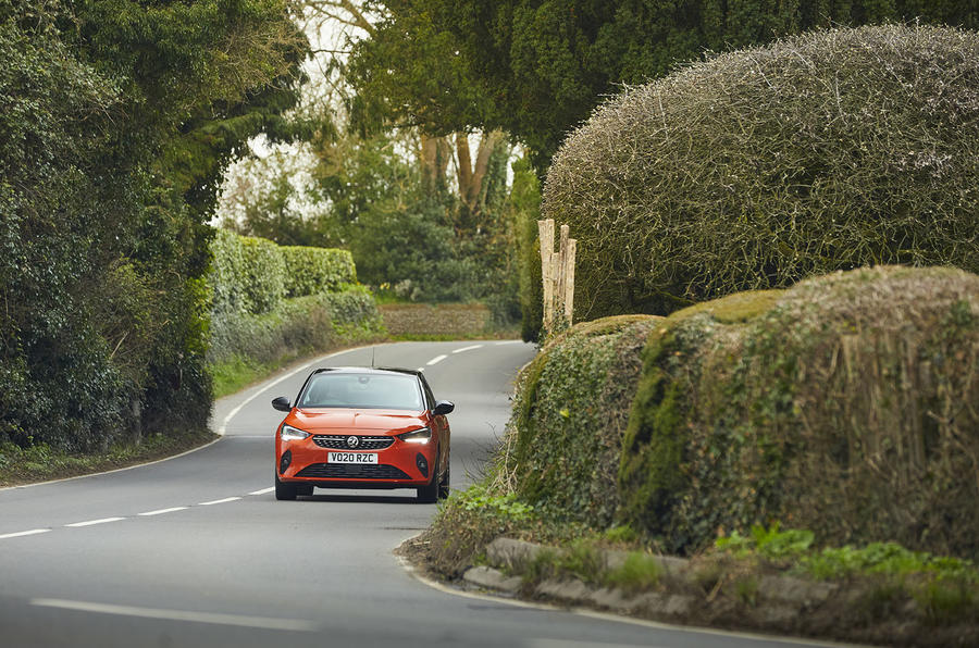 Vauxhall Corsa-e 2020 UK first drive review - on the road