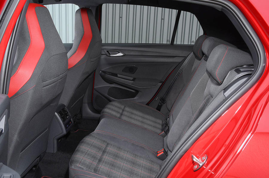 Volkswagen Golf GTI 2020 UK first drive review - rear seats