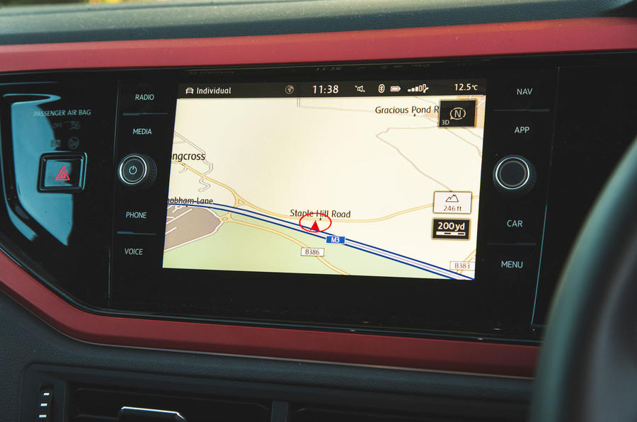 Volkswagen Polo GTI 2018 long-term review - satnav