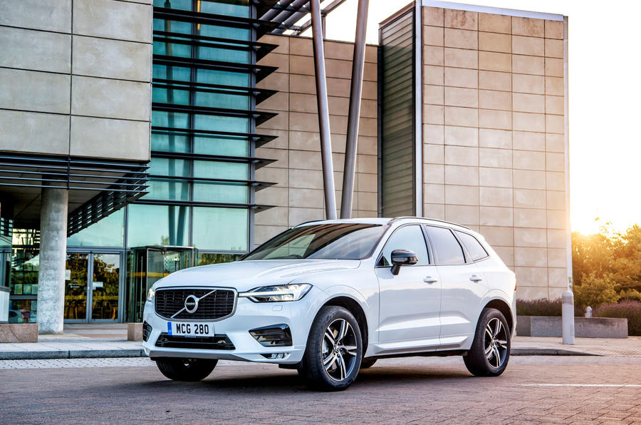 Volvo XC60 B5 2020 UK first drive review - static front