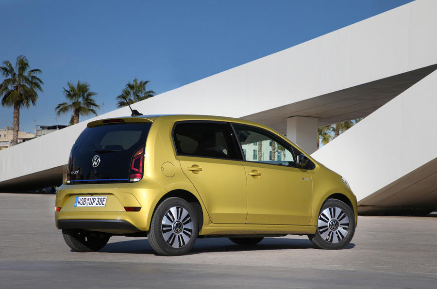 Volkswagen e-Up 2020 first drive review - static rear