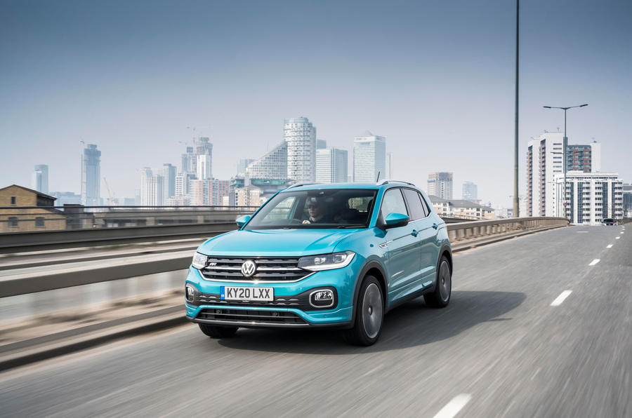 Volkswagen T-Cross R-Line 2020 UK first drive review - on the road front