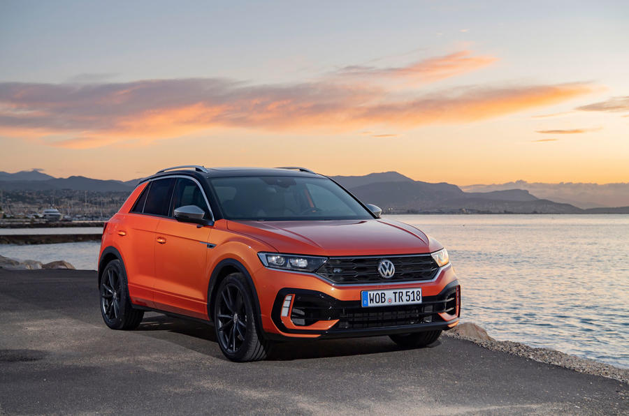 Volkswagen T-Roc R 2019 first drive review - static front