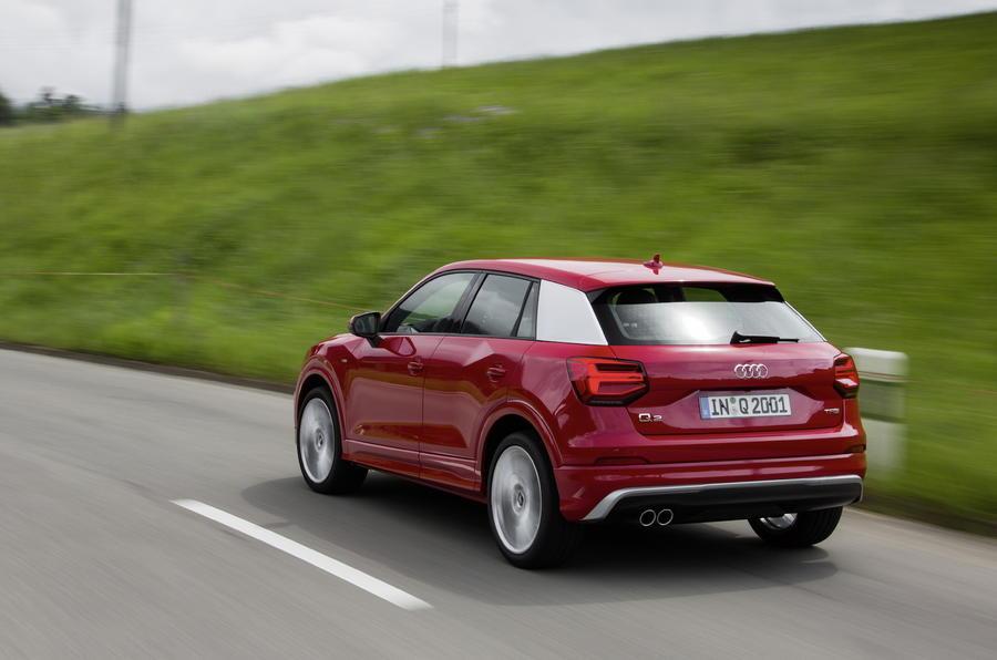 Audi Q2 1.4 TFSI S-Line rear