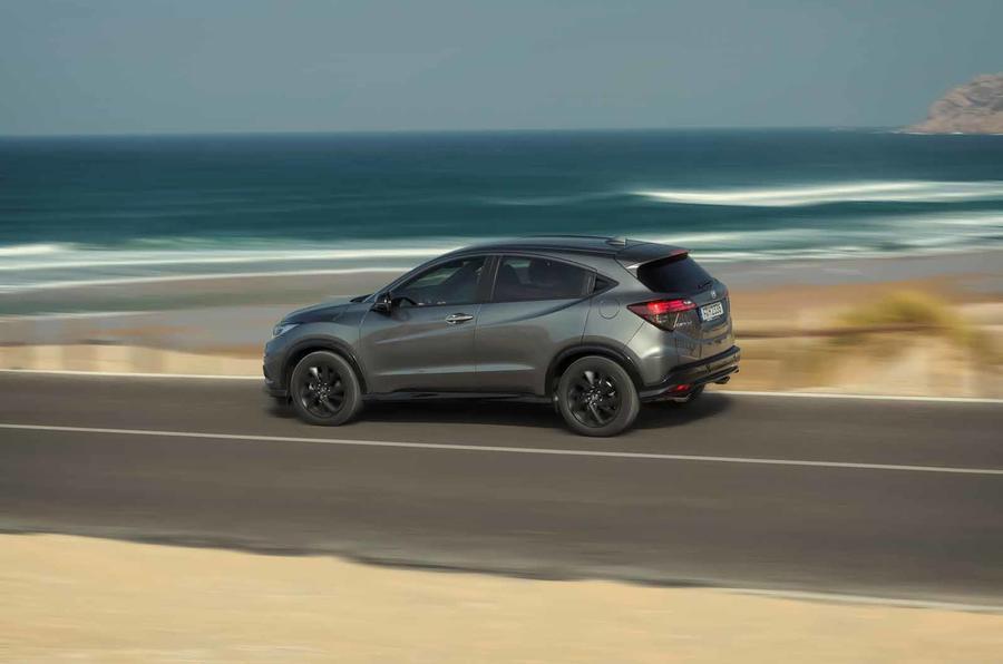 Honda Hr V Sport 2019 Review Autocar