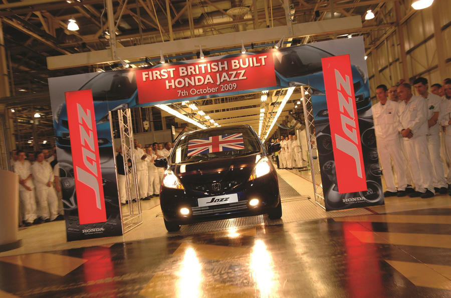 Honda Jazz production line Swindon