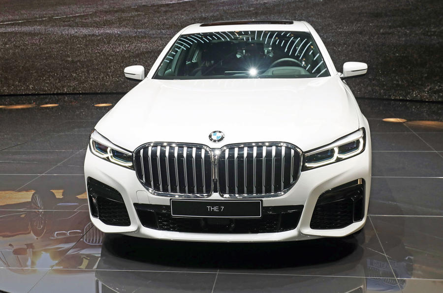 BMW 7 Series Geneva motor show - front end