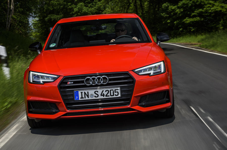 Audi S4 front end