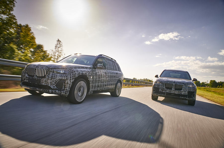 BMW X7 prototype
