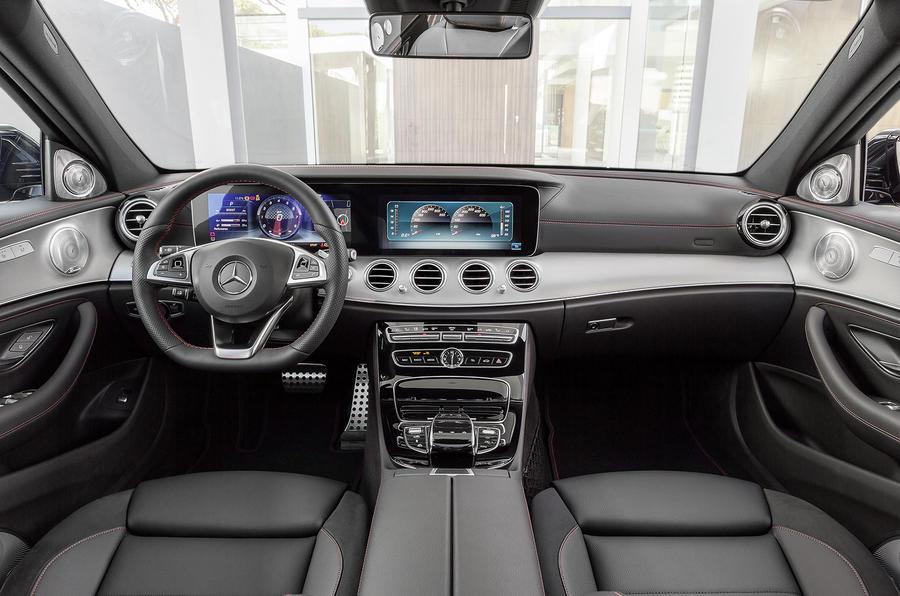 Mercedes-AMG E43 interior