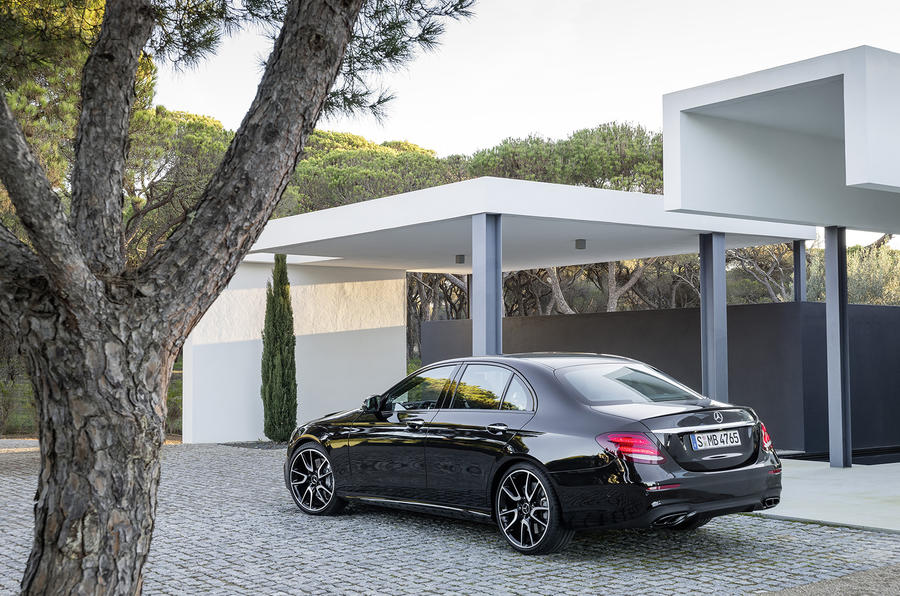 Mercedes-AMG E43 rear