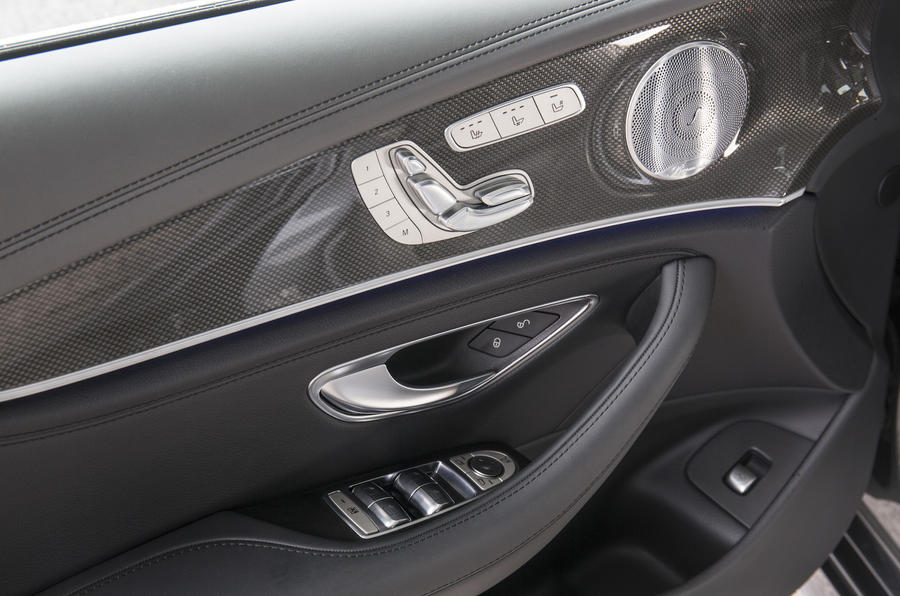 Mercedes-Benz E 350 d door card