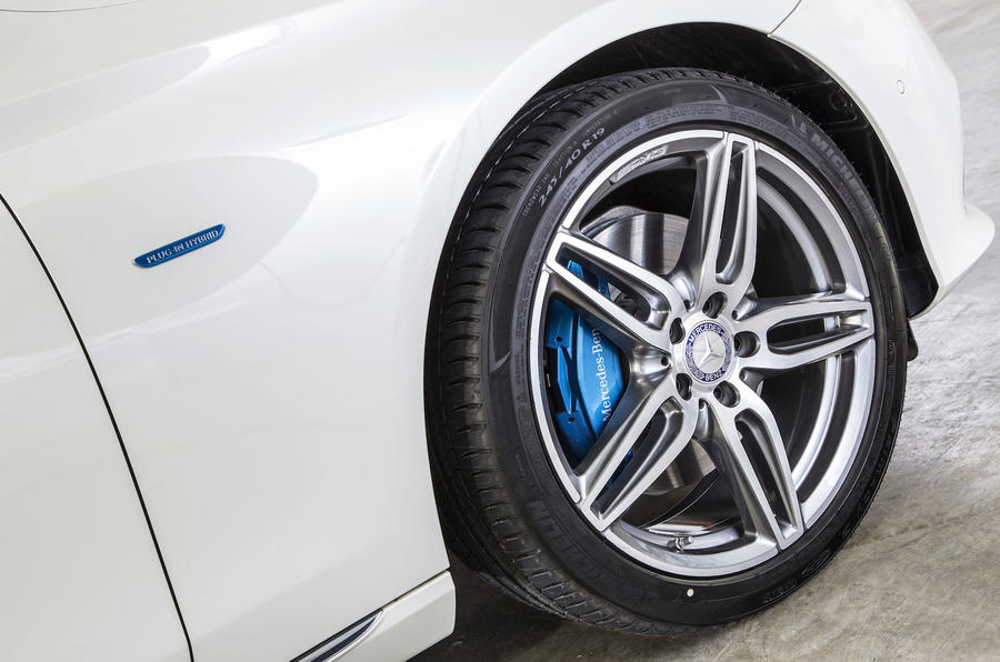 Mercedes-Benz E 350 e alloys