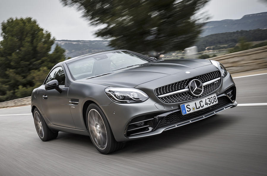 3 star Mercedes-AMG SLC 43