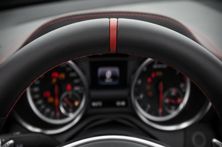 Mercedes-AMG SLC 43 instrument cluster