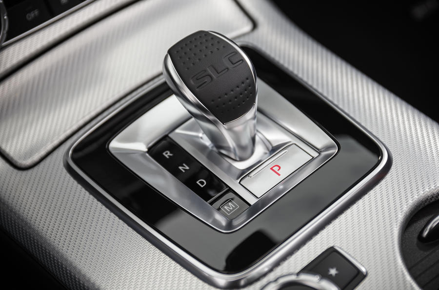 Nine-speed Mercedes-AMG auto gearbox
