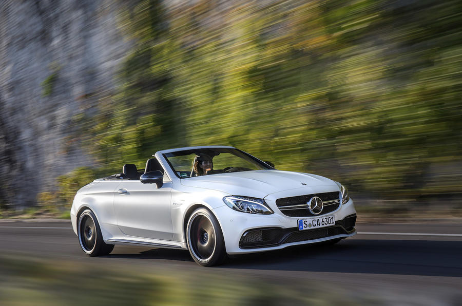 £72,245 Mercedes-AMG C 63 S Cabriolet