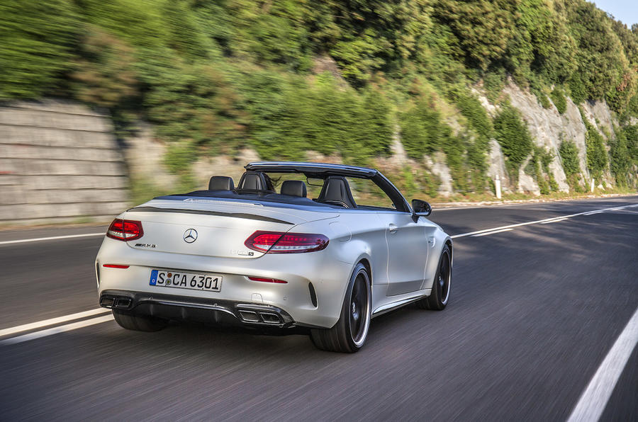 Mercedes-AMG C 63 S Cabriolet rear