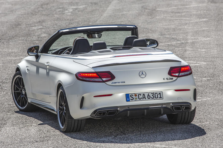 2016 mercedes amg c 63 s cabriolet review autocar. Black Bedroom Furniture Sets. Home Design Ideas