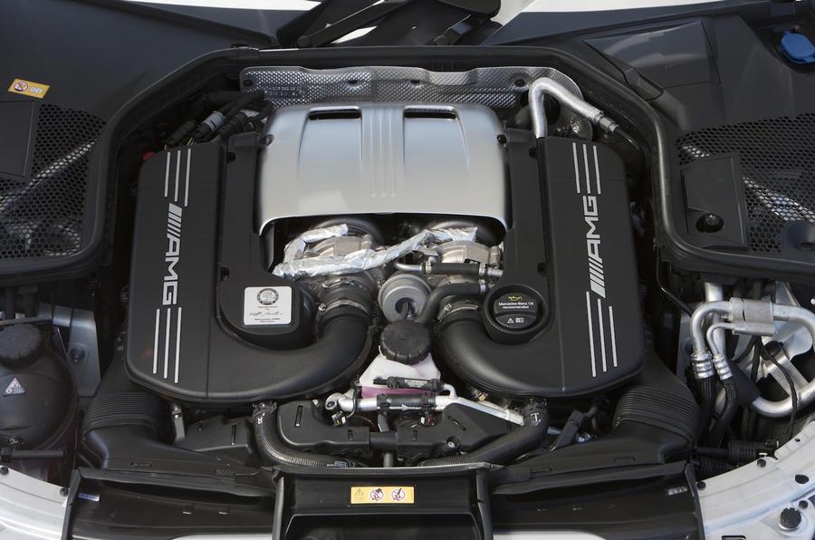 4.0-litre V8 Mercedes-AMG C 63 engine