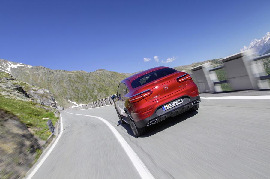 Mercedes-Benz GLC Coupé rear