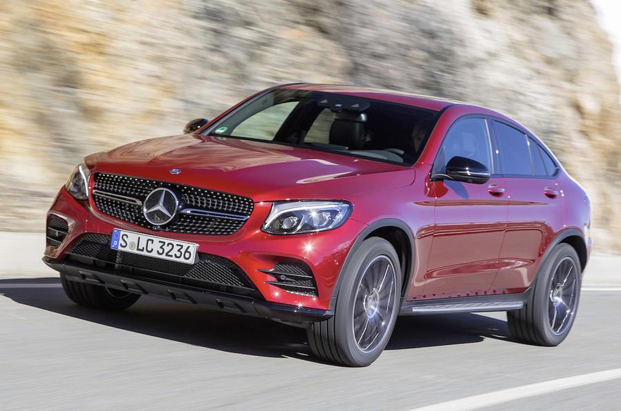 Mercedes-Benz GLC 350 d Coupé AMG Line