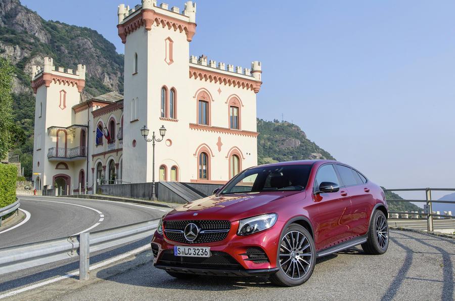 3.5 star Mercedes-Benz GLC Coupé