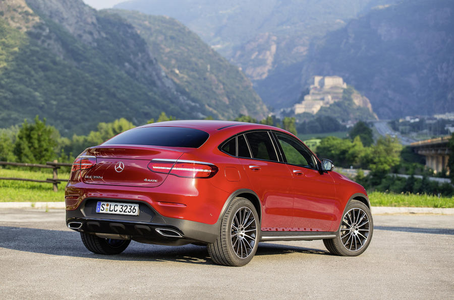 2016 mercedes benz glc 350 d coup review review autocar. Black Bedroom Furniture Sets. Home Design Ideas
