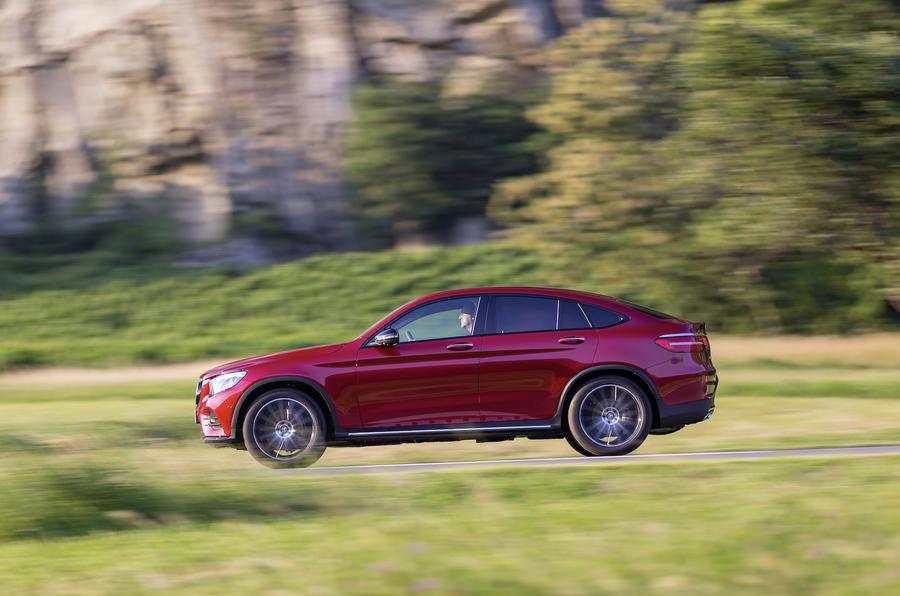 Mercedes-Benz GLC Coupé side profile