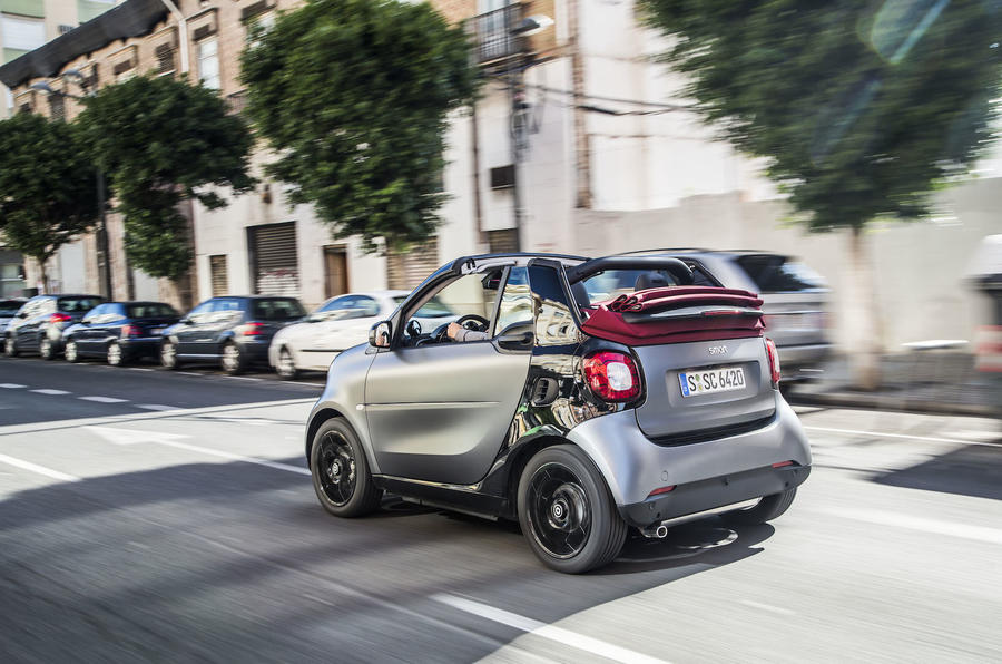 2016 Smart Fortwo Cabrio 90 Twinamic review review  Autocar