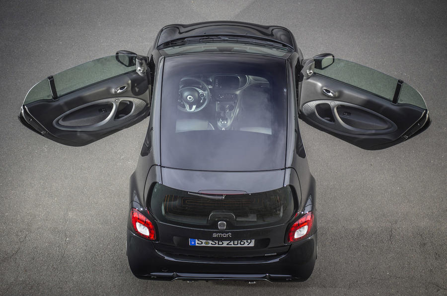 Smart Brabus Fortwo doors opened