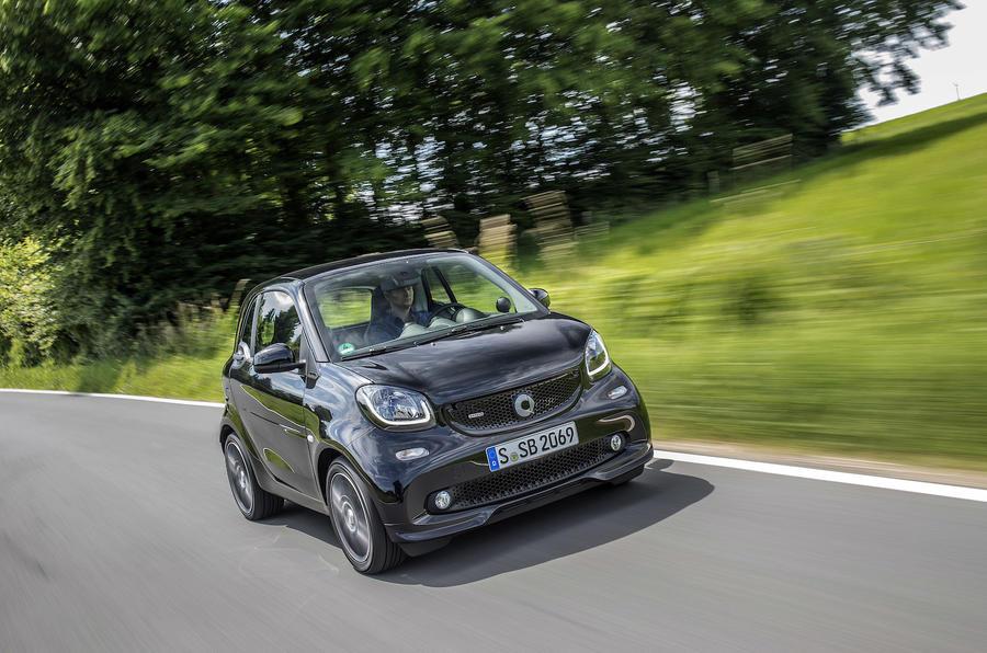 £16,000 Smart Brabus Fortwo