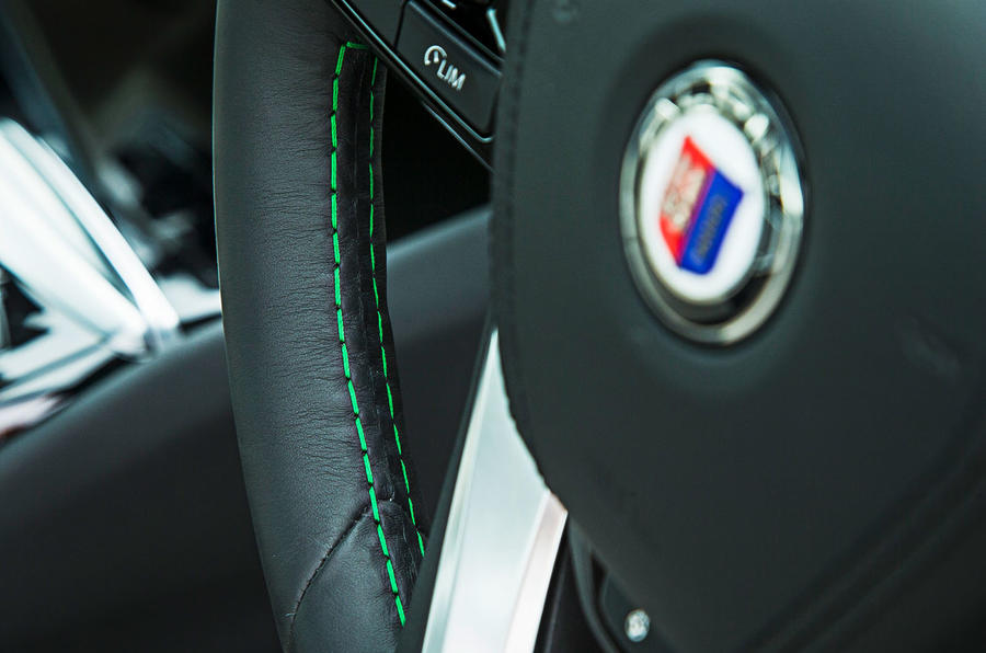 Alpina B5 BiTurbo saloon stitching
