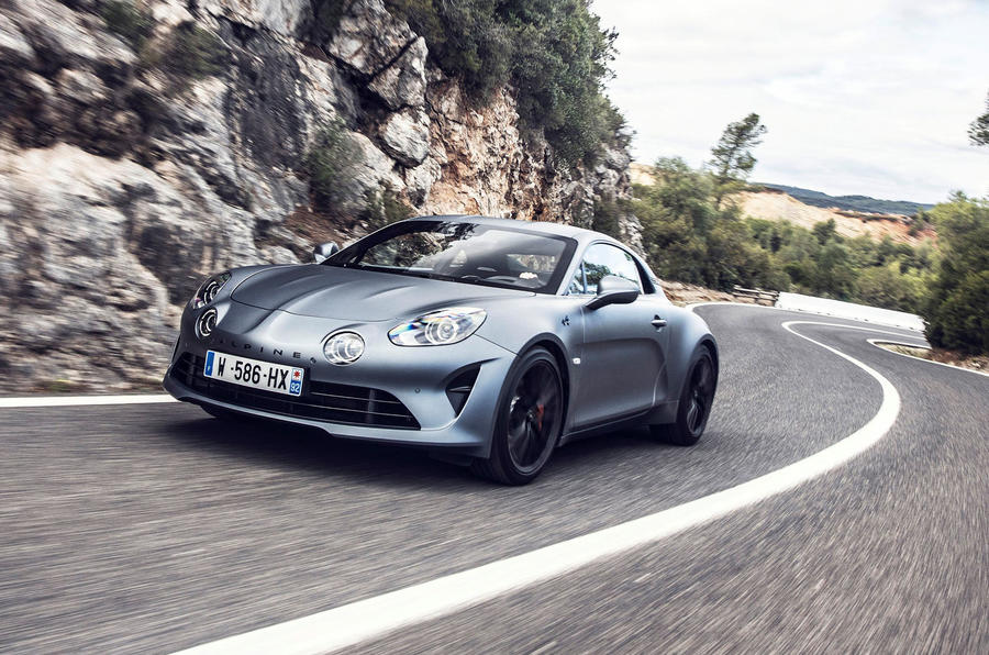 Alpine A110S 2019 first drive review - on the road front