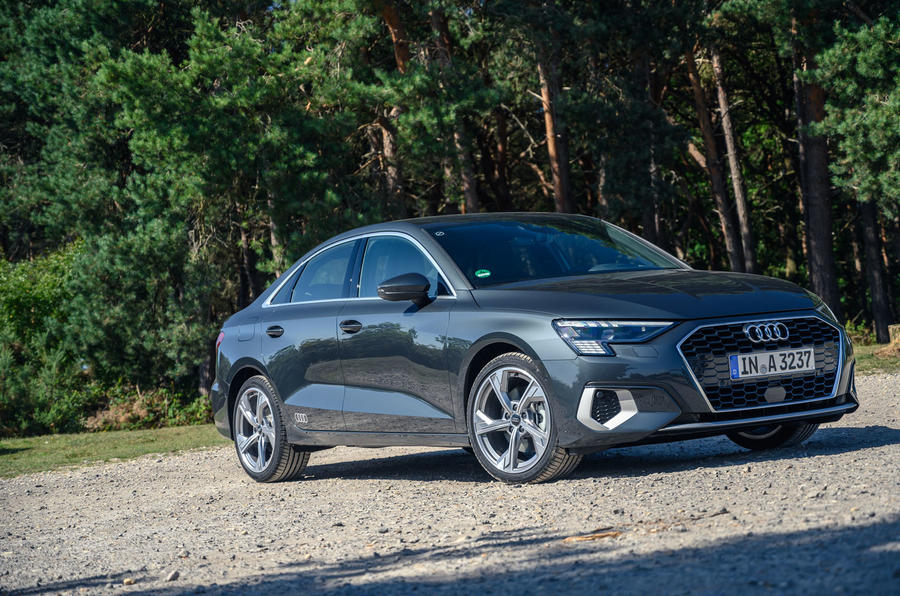 Audi A3 saloon 2020 UK first drive review - static