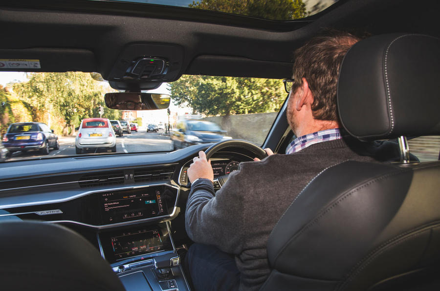 Audi A6 2018 long-term review - Damien Smith driving