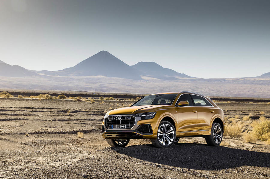 Audi Q8 2018 first drive review static hero