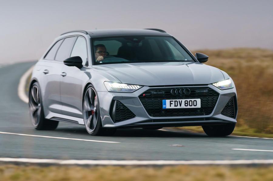 Audi RS6 - top ten super saloons