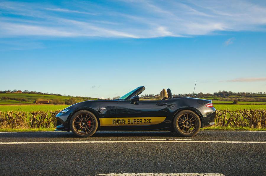 BBR GTI Mazda MX-5 Super 220 2020 UK first drive review - static side