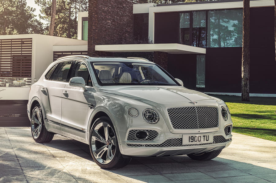 Bentley Bentayga hybrid 2019 first drive review - static front