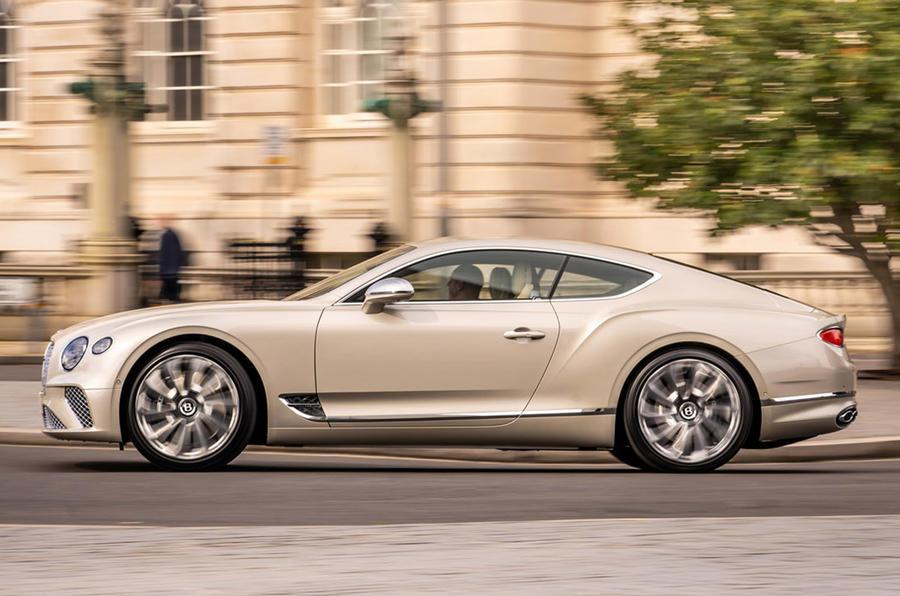 Bentley Mulliner GT - side