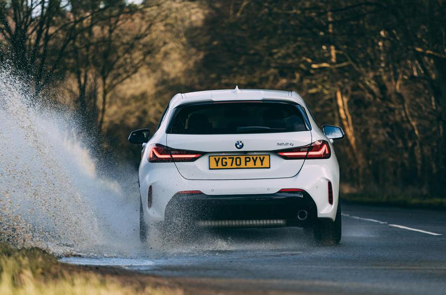 17 BMW 1 Série 128ti 2021 : première révision de la conduite au Royaume-Uni