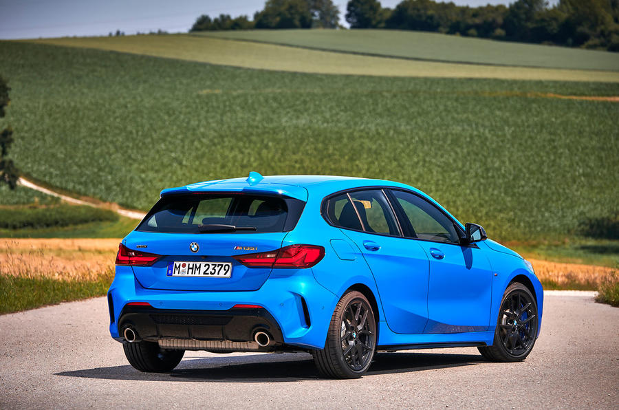 BMW 1 Series M135i 2019 first drive review - static rear