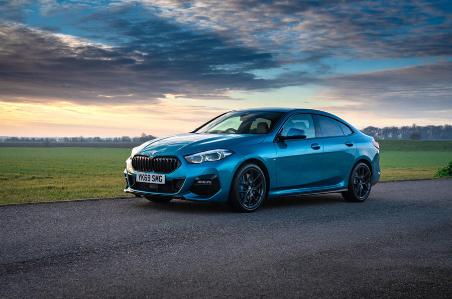 BMW 2 Series Gran Coupe 220d 2020 UK first drive review - static